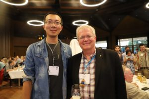 Jian Ren and Prof. Brian Paul Schmidt in #LINO19