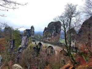 Picture: Sächsische Schweiz during on of Yutsung's trips.